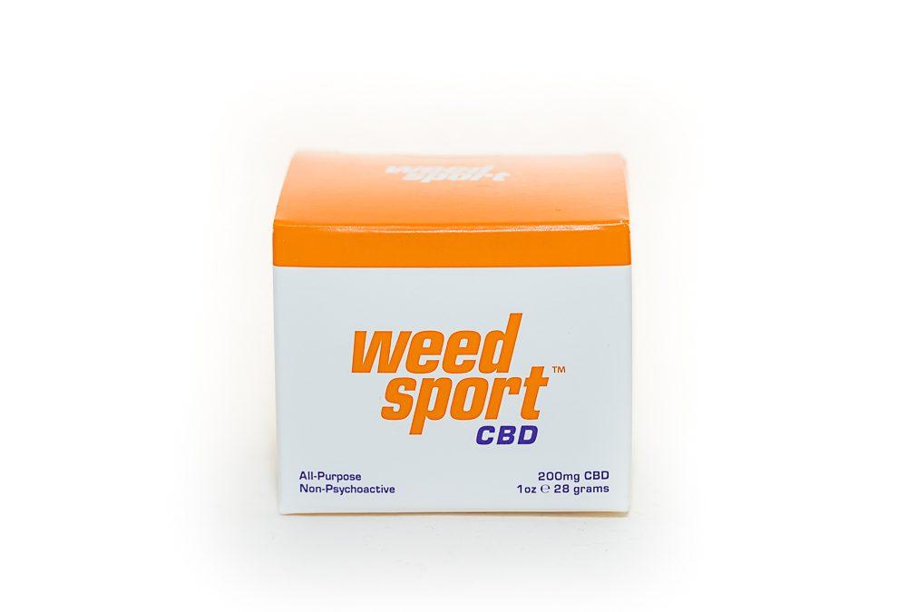 WeedSport CBD Muscle Rub by Canna Sport LLC