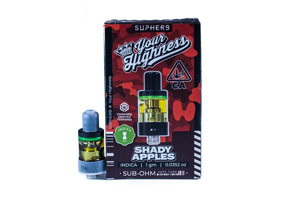 """Supherb Collaboration with Your Highness """"Shady Apple"""" by Supherb/VBX labs"""