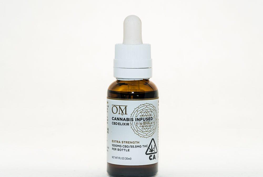Extra Strength CBD Elixir Made With Sun Grown ACDC by OM x Island Mountain Organics