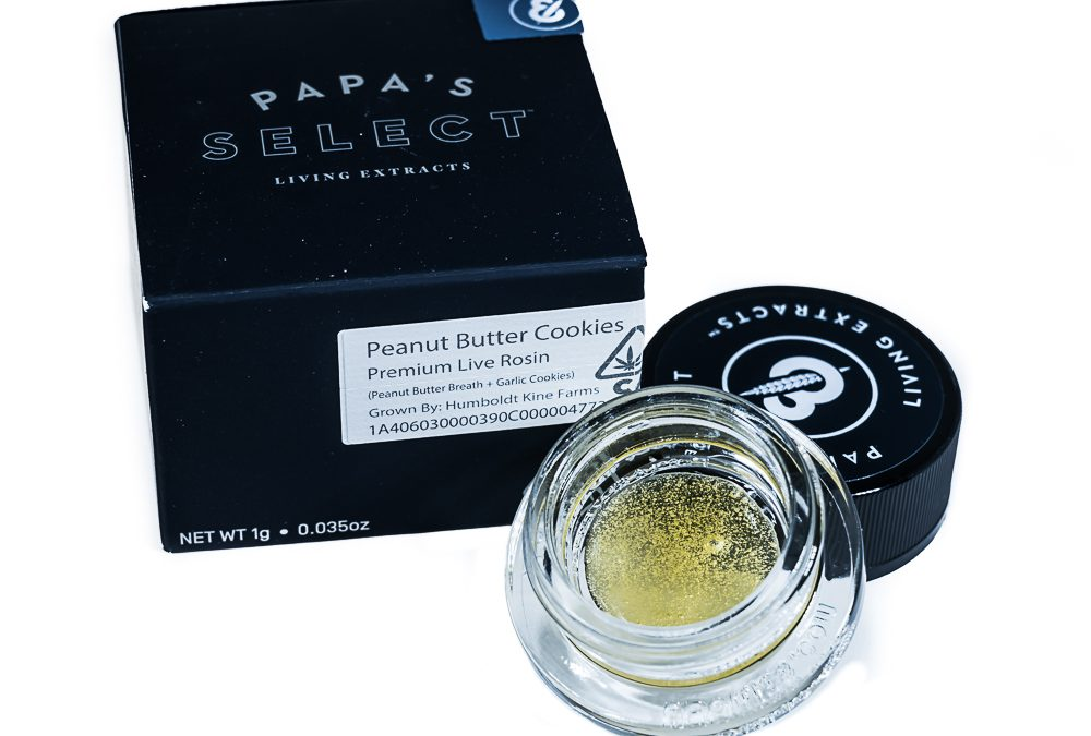 Peanut Butter Cookies Premium Live Rosin by Papa's Select