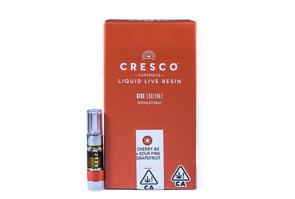 Cresco Cherry AK x Sour Pink Grapefruit - Liquid Live Resin by SLO Cultivation Inc. dba Cresco Labs