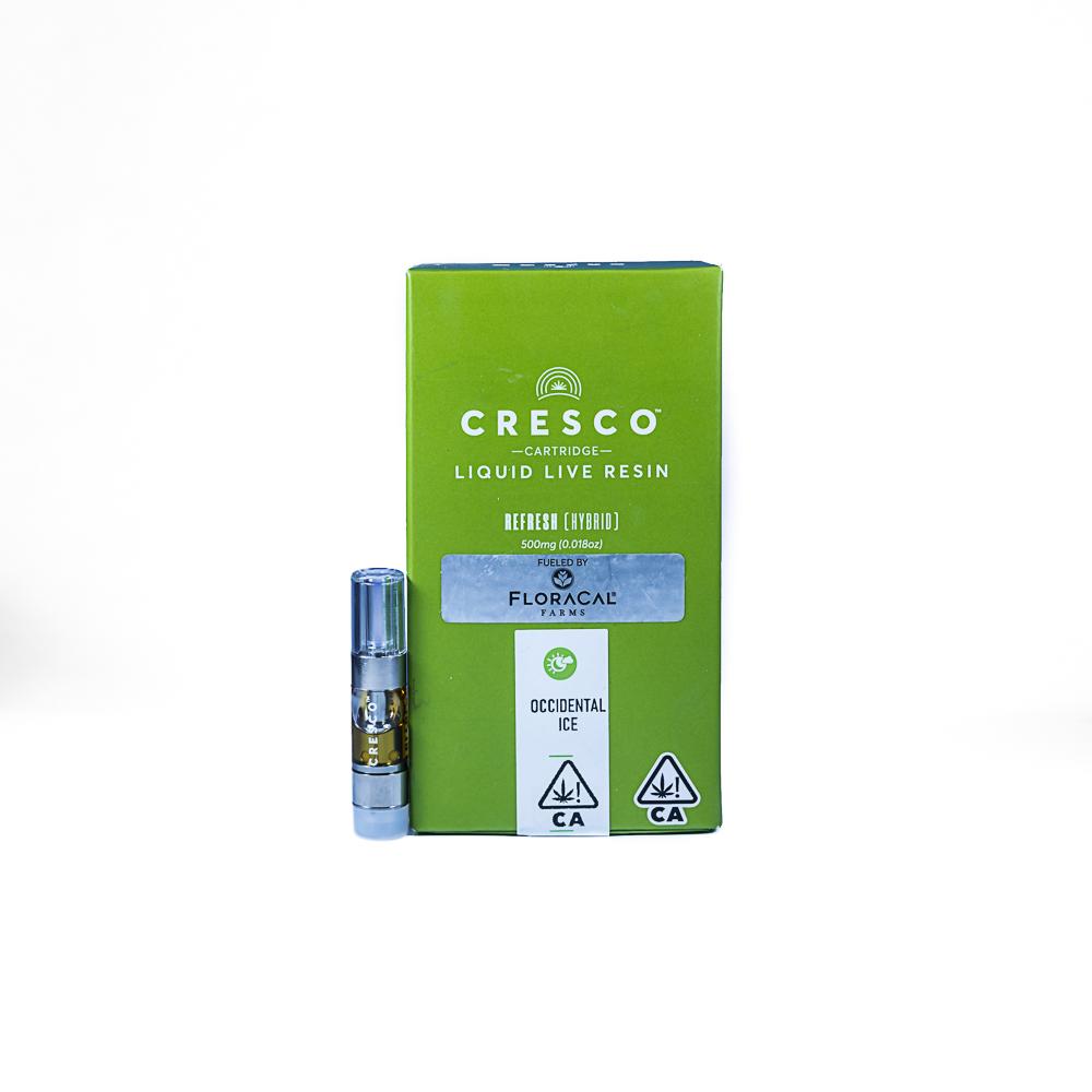 "Cresco x Floracal Occidental Ice - Liquid Live Resin by SLO Cultivation Inc. dba Cresco Labs, a:1:{i:0;s:22:""Cresco, Floracal Farms"";}"