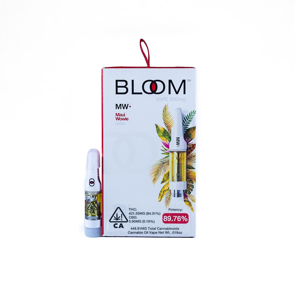BLOOM Vape 1g, Maui Wowie by Capna Intellectual