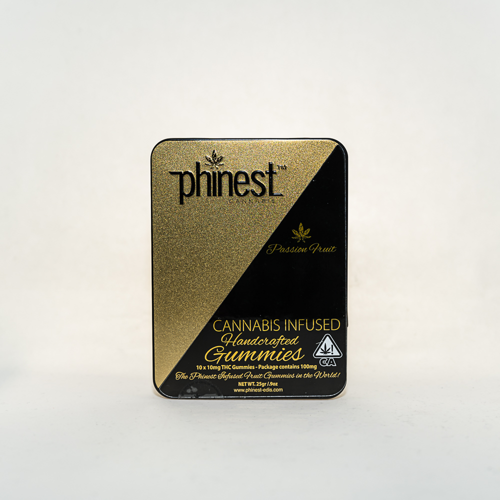 Phinest Cannabis Passion Fruit Gummy by PEP Partners LLC