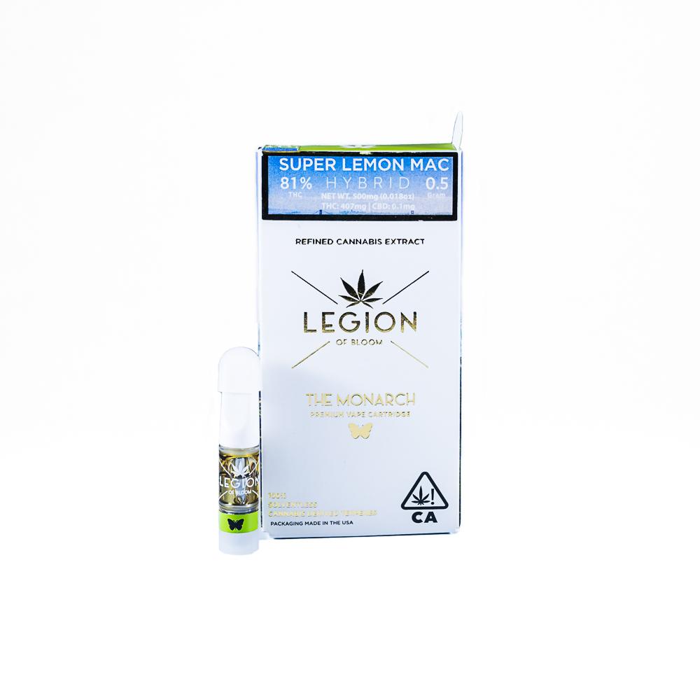 The Monarch, Super Lemon Mac, Solventless Terpenes by LEGION of Bloom