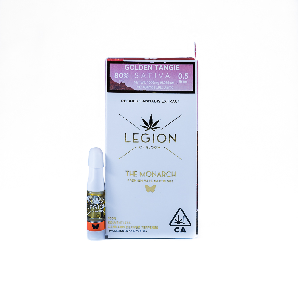The Monarch, Golden Tangie, Solventless Terpenes by LEGION of Bloom