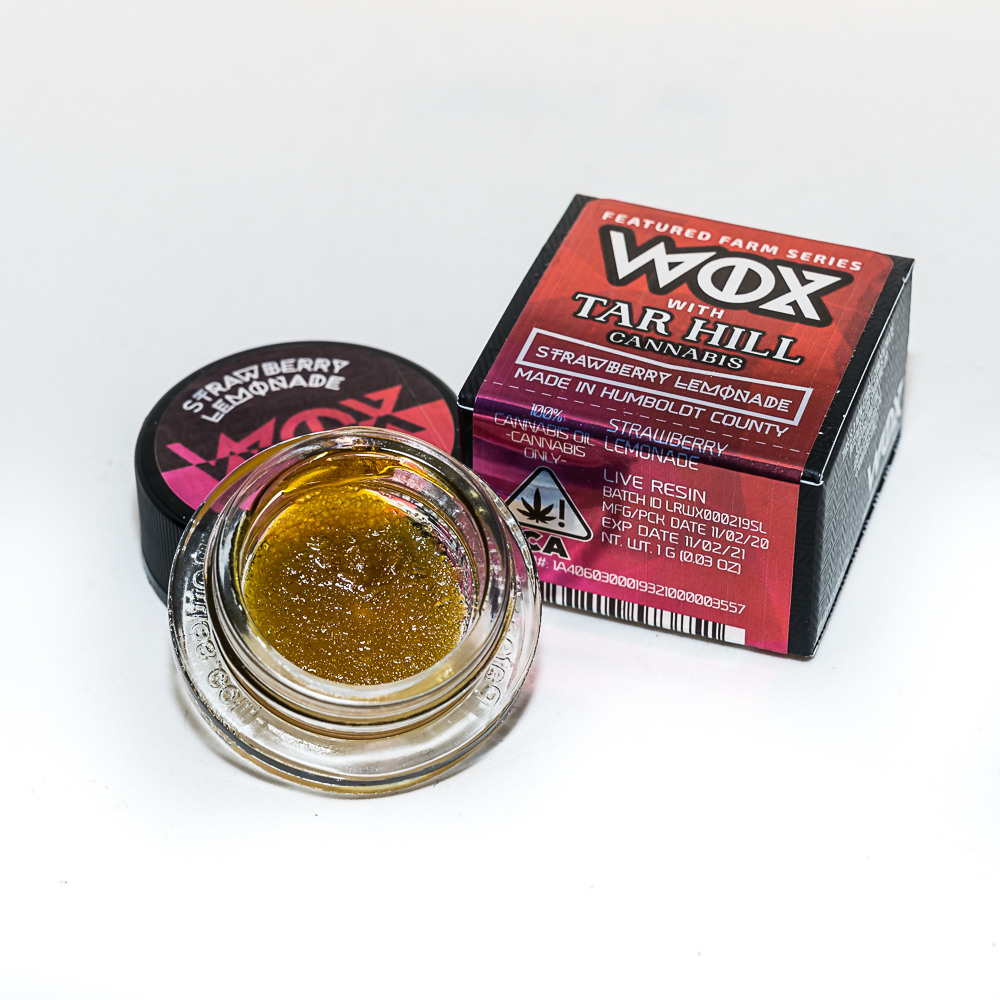 Tar Hill Strawberry Lemonade Live Resin by WOX EXTRACTS x Tar Hill Cannabis