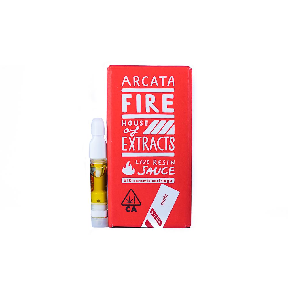 Arcata Fire Live Resin Vape - Runtz by ArcataX x Great Expectations Farm x Lightwork Distributors