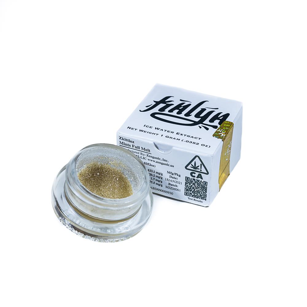 Zkittlezmintz by Kalya Extracts by Zenganic Inc x Mojave Cannabis Co