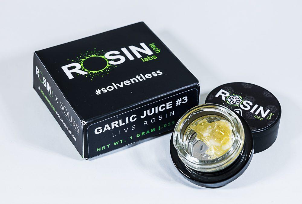 Garlic Juice #3 Fresh Pressed Live Rosin by Rosin Tech Labs