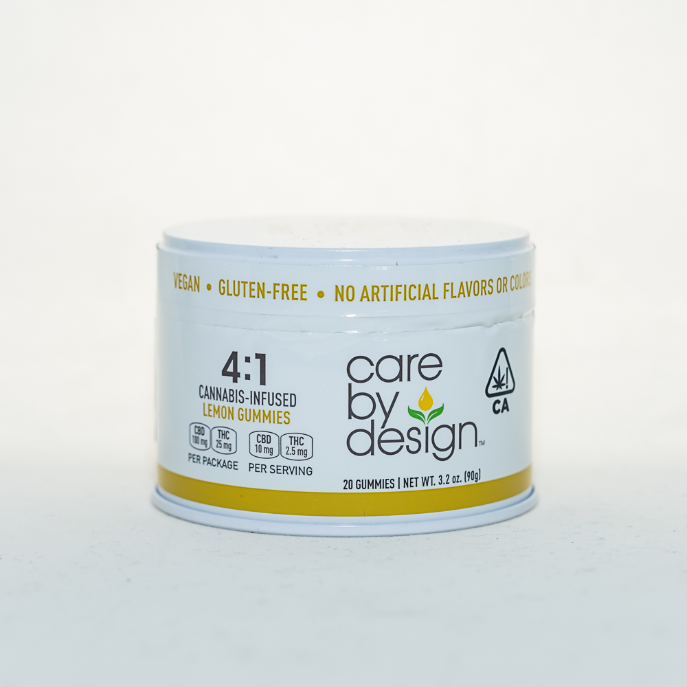 Care by Design 4:1 Gummies, Lemon by CRFT Manufacturing, Inc.