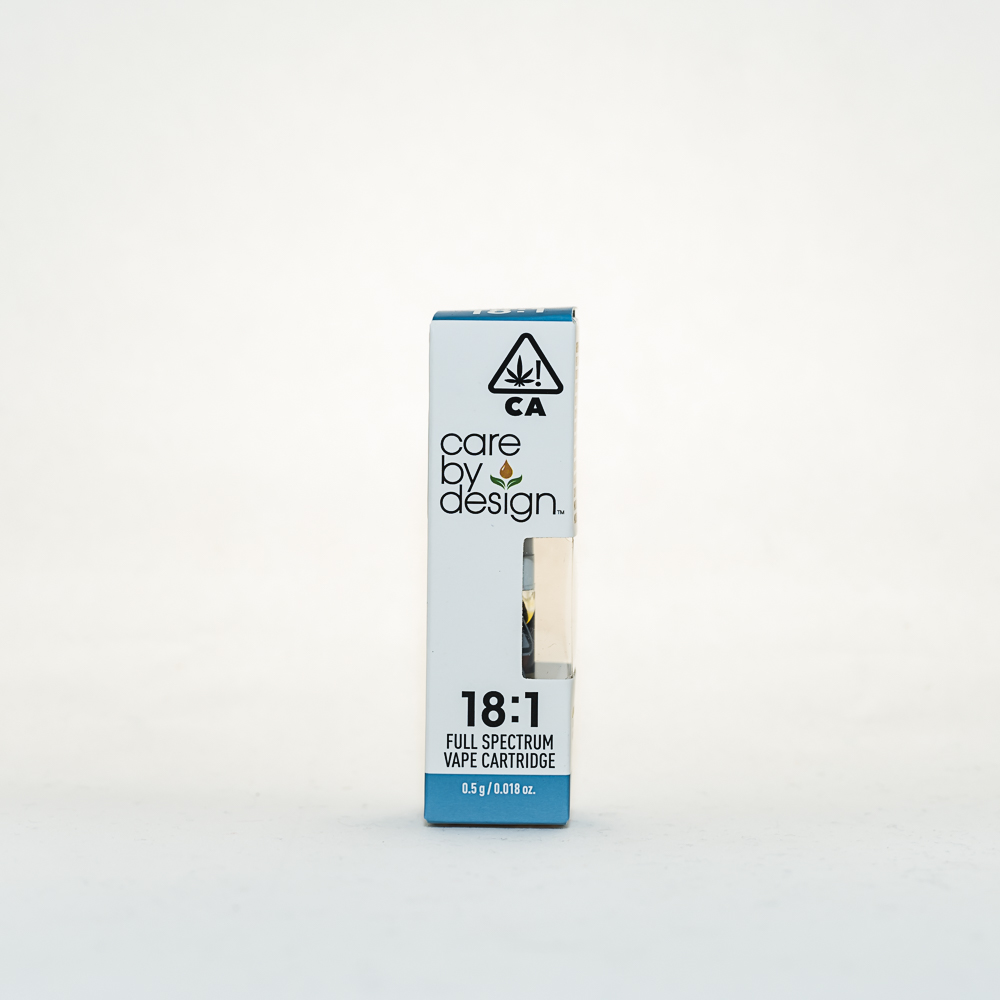 Care by Design 18:1 Vape Cartridge by CRFT Manufacturing, Inc.